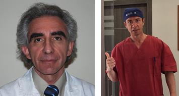 dott Panico dermatologo e dott. Scioscia Chirurgo Plastico Roma